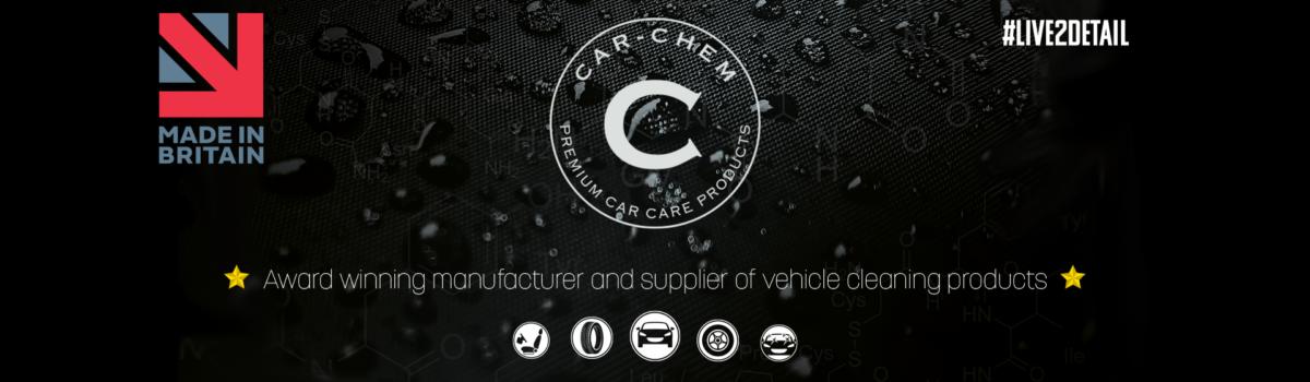 Car Chem website banner